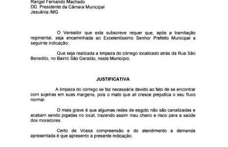 INDICAÇÃO Nº 10-2020