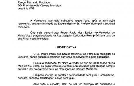 INDICAÇÃO Nº 12-2020