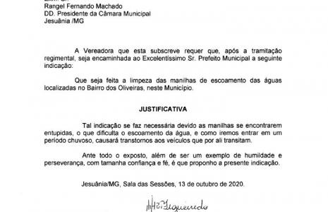 INDICAÇÃO Nº 14-2020