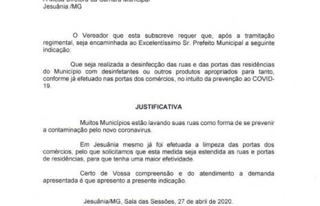 INDICAÇÃO Nº 06-2020